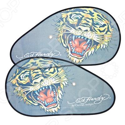Шторки солнцезащитные на боковые стекла ED Hardy EH-00208 Tiger ED Hardy - артикул: 542531