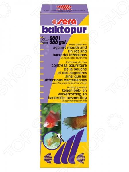 Средство лекарственное для аквариумных рыб Sera Baktopur