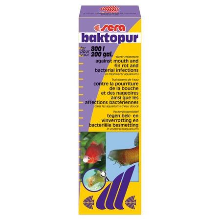 Купить Средство лекарственное для аквариумных рыб Sera Baktopur