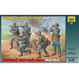 фото Миниатюра Звезда Немецкий пехотный взвод 1942-1944 годов