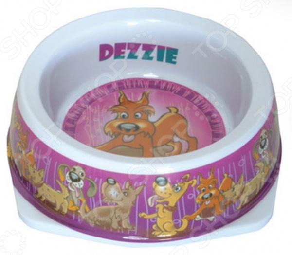 Миска для собак DEZZIE «Азарт» миска для кошек разноуровневая dezzie охотник