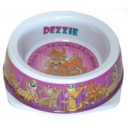 фото Миска для собак DEZZIE «Азарт». В ассортименте. Размер: 12,5х4,5 см. Объем: 150 мл
