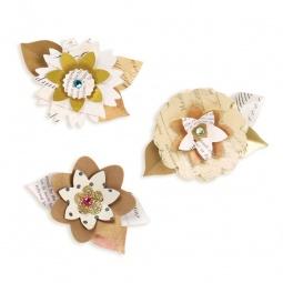 фото Форма для вырубки Sizzix Sizzlits Decorative Strip Die Летние цветы