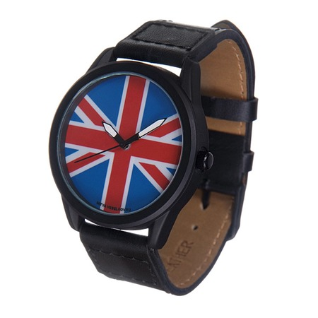 Купить Часы наручные Mitya Veselkov «Британский флаг» MVBlack