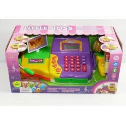 фото Игровой набор для девочки Shantou Gepai «Касса электронная с набором продуктов и сканером» 622336