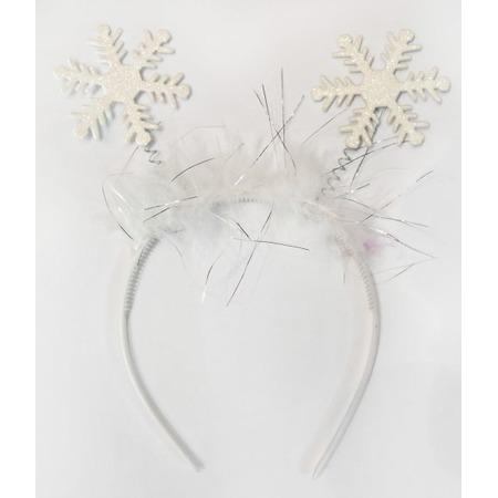 Купить Головной убор маскарадный Новогодняя сказка «Ободок. Снежинка»