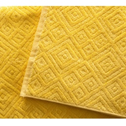фото Полотенце махровое Asgabat Dokma Toplumy «Жаккард». Размер: 70х140 см. Цвет: желтый