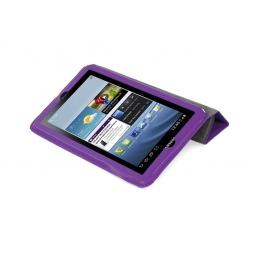 фото Чехол LaZarr Smart Folio Case для Samsung Galaxy Tab 2 P3100/P3110. Цвет: фиолетовый
