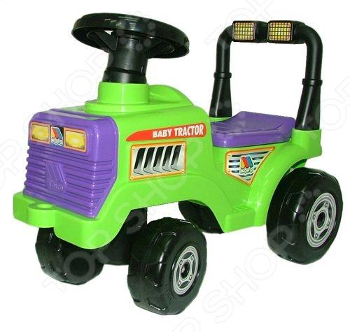 Машина-каталка с гудком Полесье «Трактор Митя»