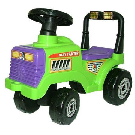 Купить Машина-каталка с гудком Полесье «Трактор Митя»