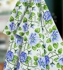 Полотенце вафельное BONITA «Незабудки» полотенце для кухни арти м незабудки