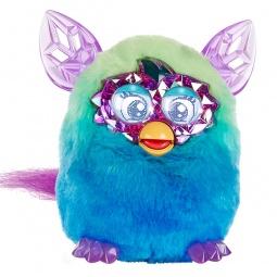фото Мягкая игрушка интерактивная Hasbro «Ферби Кристалл». Цвет: зеленый, синий
