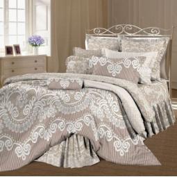фото Комплект постельного белья Романтика «Даниэль». 1,5-спальный. Размер наволочки: 50х70 см — 2 шт