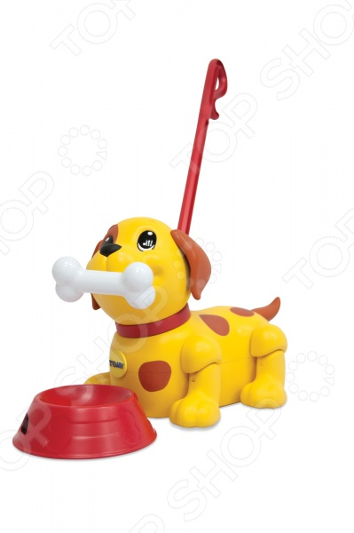 Игрушка развивающая для малыша Tomy «Щенок. Погуляй со мной» интерактивная игрушка tomy погуляй со мной щенок от 1 года желтый то72376