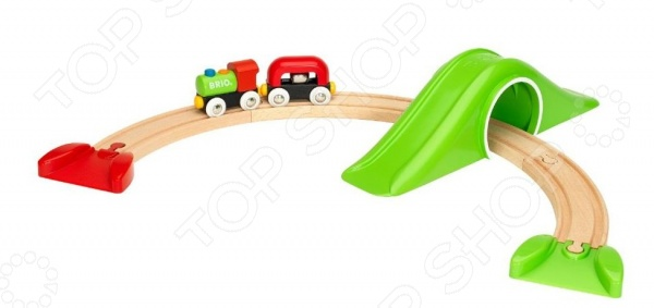 Набор железной дороги игрушечный Brio «Моя первая железная дорога. Для самых маленьких»