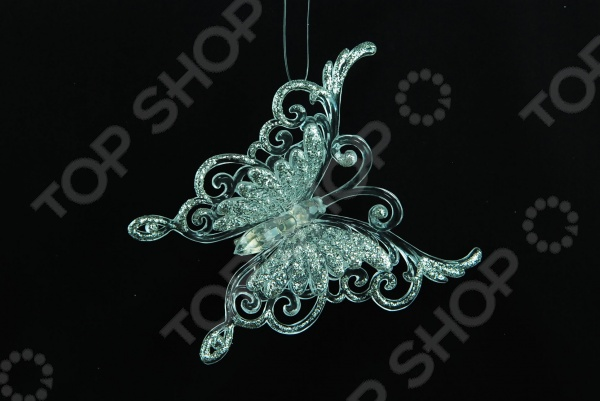 Елочное украшение Crystal Deco «Бабочка» 1707600