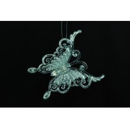 Купить Елочное украшение Crystal Deco «Бабочка» 1707600