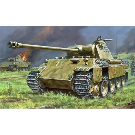 Купить Сборная модель танка Звезда «Т-V Пантера»