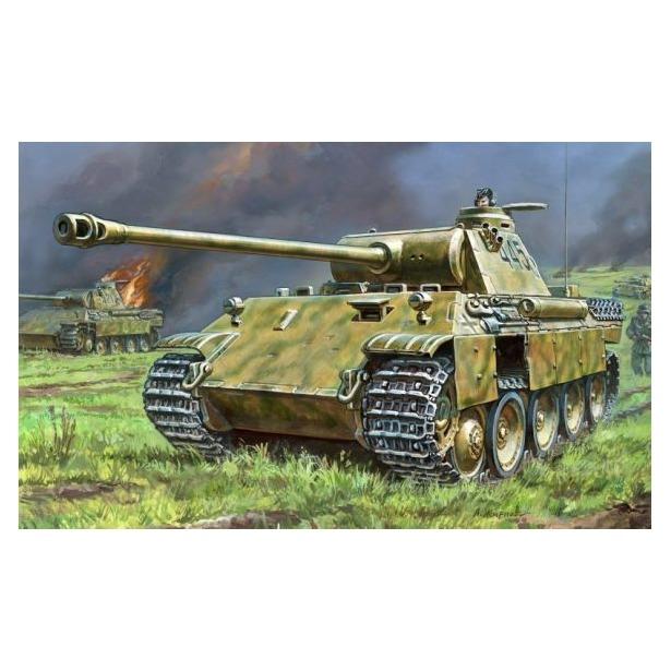 фото Сборная модель танка Звезда «Т-V Пантера»