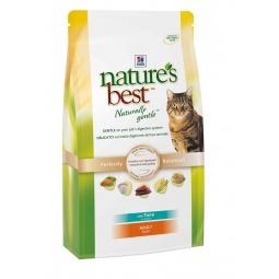 фото Корм сухой для кошек Hill's Nature's Best с тунцом и овощами. Вес упаковки: 2 кг