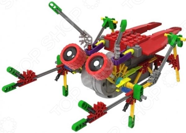 Конструктор электромеханический Loz IROBOT «Кузнечик»Другие виды конструкторов<br>Конструктор электромеханический Loz IROBOT Кузнечик крутой конструктор для маленьких строителей. Внутри коробки находятся детали, с помощью которых можно собрать своими руками полноценную игрушку. У игрушки есть специальный механизм с моторчиком, благодаря чему можно передвигать её по поверхности. Для работы этой игрушки понадобятся пару батареек типа АА в комплекте поставки нет батареек . В любом случае, этот конструктор способствует развитию инженерских навыков, воображения, умения использовать форму предмета, а также мелкой моторики рук. Кроме того, тренируется наблюдательность и логическое мышление. Рекомендуется детям от 6-ти лет.<br>