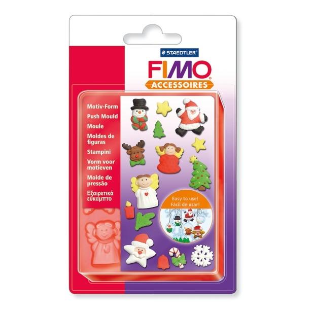 фото Набор формочек для лепки Fimo «Рождество»