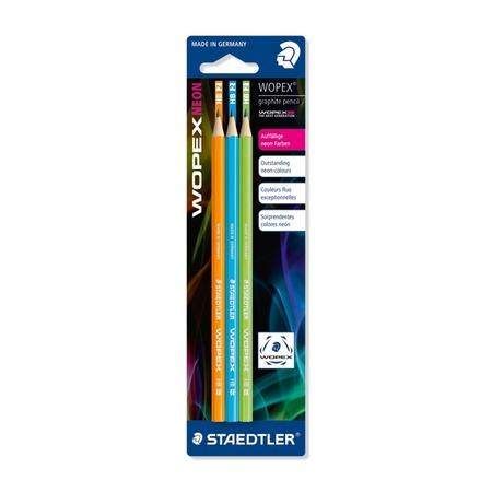 Купить Набор карандашей с ластиком Staedtler 182FBK3-2
