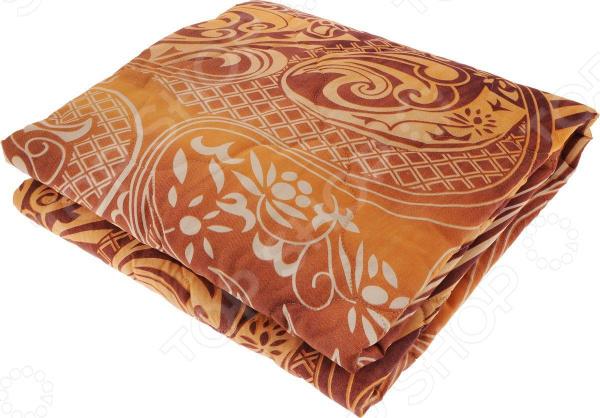 Одеяло облегченное Tete-a-Tete «Экофайбер»Одеяла<br>Одеяло облегченное Tete-a-Tete Экофайбер отличное одеяло, которое подарит вам уют, тепло и здоровый сон. Чехол одеяла сделан из материала, который отличается надежностью, прочностью и легкостью ухода. В качестве наполнителя используется слои экофайбера полое силиконизированное волокно, аналог холлофайбера. Он обеспечивает экологическую чистоту и высокую теплозащиту, более того он гипоаллергенен, не впитывает пыль и запахи. Это одеяло подарит вам драгоценные часы крепкого сна и отдыха от каждодневных забот. Прослужит долго, а его изысканный внешний вид будет годами дарить вам уют.<br>