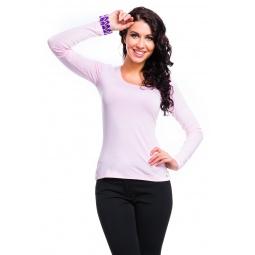 фото Кофта Mondigo 436. Цвет: бледно-розовый. Размер одежды: 42