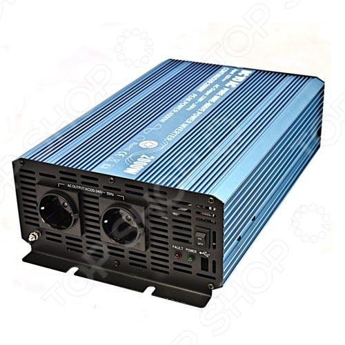 Инвертор автомобильный Carstech S-322000PАвтомобильные инверторы<br>Инвертор автомобильный Carstech S-322000P устройство, которое служит для преобразования источника напряжения бортовой сети автомобиля 12 В в 220 В. В итоге автовладелец может использовать обычные бытовые приборы, подключаемые к стандартной розетке 220 Вольт. Мощность 2000 Вт.<br>