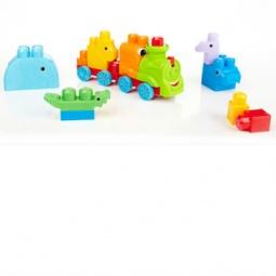 Купить Конструктор для малышей Mega Bloks «Поезд сафари»