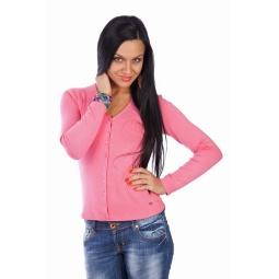 фото Жакет Mondigo 9130. Цвет: розовый. Размер одежды: 42