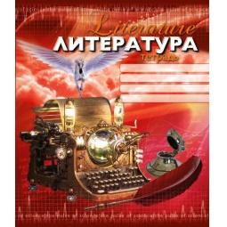 фото Тетрадь в линейку Пересвет «Литература»