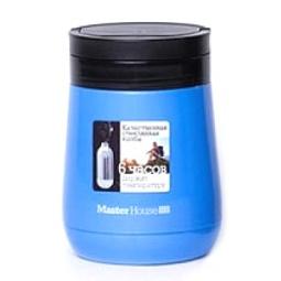 фото Ланч-бокс Master House «Милан». Цвет: синий. Объем: 1 л
