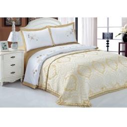 фото Комплект постельного белья с покрывалом Softline 10241. Евро