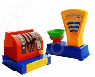 «Магазин. Весы + касса» Игровой набор для девочки ПЛЭЙДОРАДО «Магазин. Весы и касса»