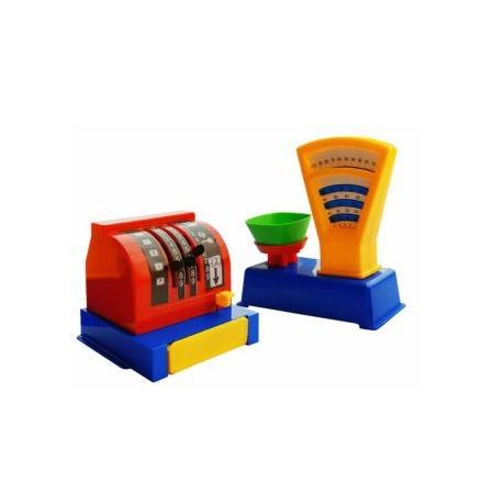 Купить Игровой набор для девочки ПЛЭЙДОРАДО «Магазин. Весы и касса»