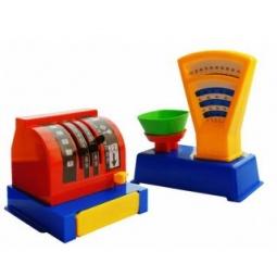 фото Игровой набор для девочки ПЛЭЙДОРАДО «Магазин. Весы и касса»
