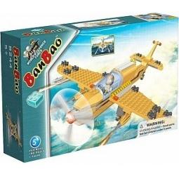 фото Конструктор Banbao Военный самолет, 190 деталей