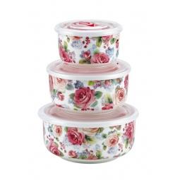 Купить Набор контейнеров для хранения продуктов Bekker BK-5116. В ассортименте