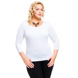 фото Кофта Mondigo XL 052. Цвет: белый. Размер одежды: 48