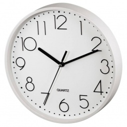 фото Часы настенные Hama PG-220. Цвет: белый