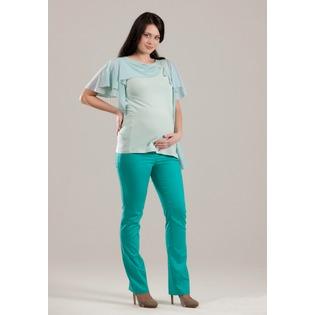 Купить Брюки для беременных Nuova Vita 5422.3. Цвет: бирюзовый