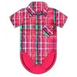 фото Боди-сорочка для новорожденных Ёмаё. Цвет: красный. Размер: 52. Рост: 80-92 см