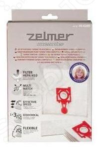 Мешки для пыли и впускной фильтр Zelmer ZVCA200B zelmer 687 5 zmm0805wru white