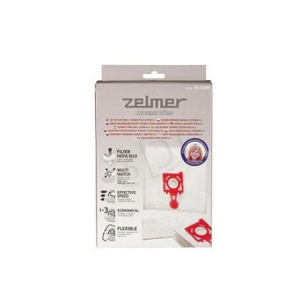 Купить Мешки для пыли и впускной фильтр Zelmer ZVCA200B