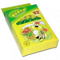 фото Набор мелков восковых Гамма «Пчелка»