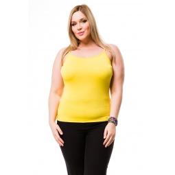 фото Майка Mondigo XL 551. Цвет: желтый. Размер одежды: 48