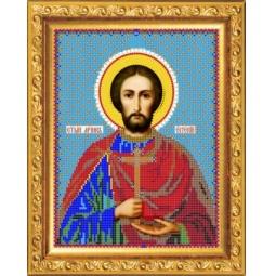 Купить Набор для вышивания бисером Светлица «Святой Евгений»