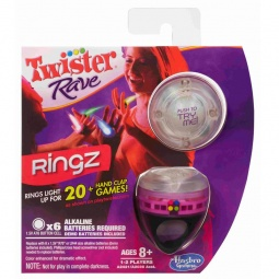 фото Игра для компаний Hasbro Twister Rave. Кольца. В ассортименте.